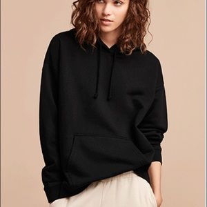 Aritzia TNA the iconic hoodie in black